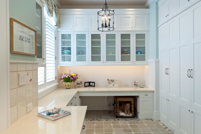 Ideal Traditional Laundry Room by Collins u DuPont Design Group