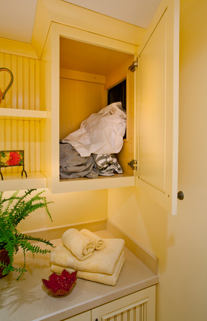 Lake Home - Traditional - Laundry Room - portland - by L ...