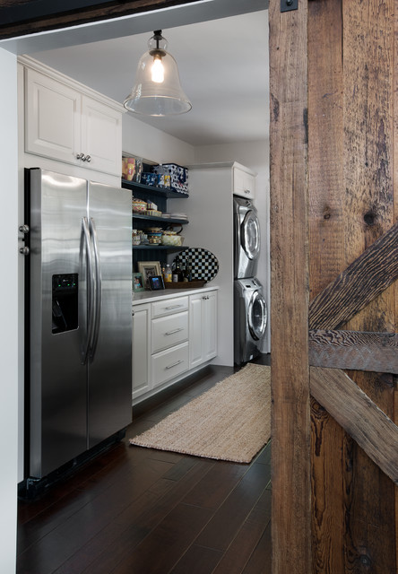 Lake House Beach Style Laundry Room Other Metro By