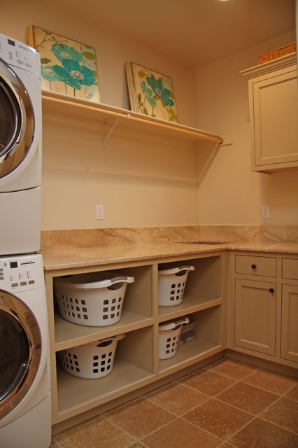 LANDMARK BUILDERS Custom Homes & Renovation traditional-laundry-room