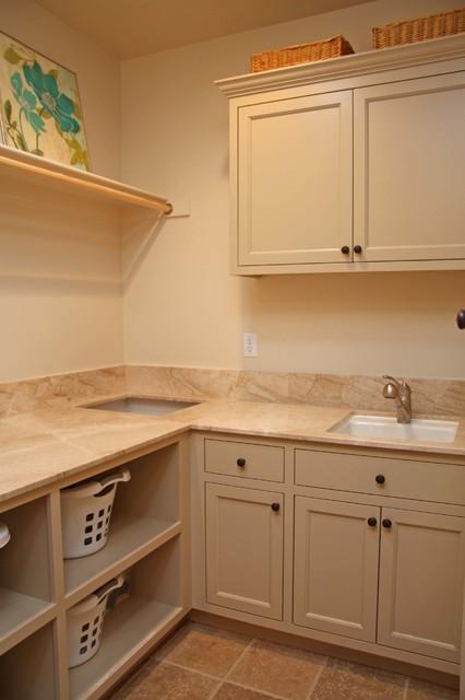 LANDMARK BUILDERS Custom Homes & Renovation traditional-laundry-room
