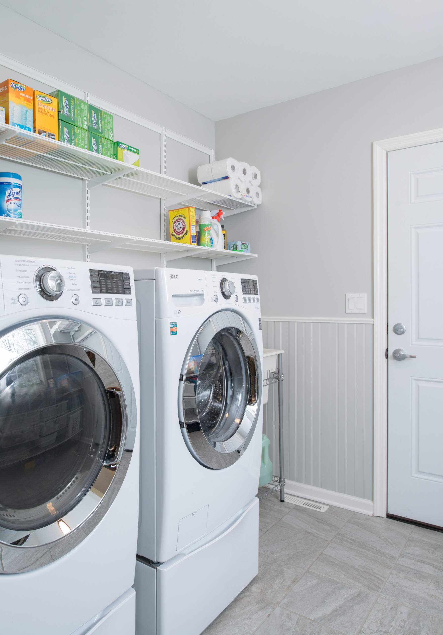 Laundry and Garage Addition