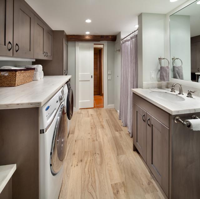 Laundry Bathroom - Traditional - Laundry Room - DC Metro ...
