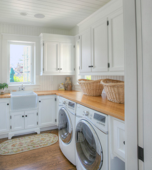 Traditional Laundry Room by Guilford Architects & Building Designers CK Architects