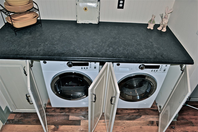 Laundry - Hidden Washer/Dryer laundry-room