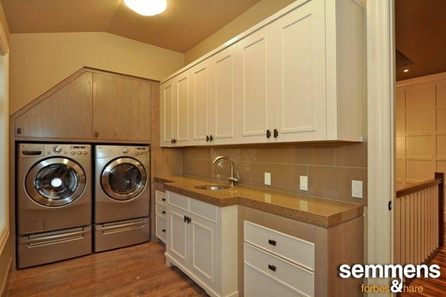 laundry contemporary-laundry-room