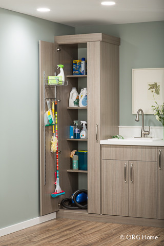Laundry Modern Utility Room Boston By Closet