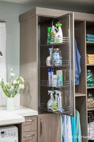 Laundry - Modern - Laundry Room - Boston - by Closet Classics of Andover