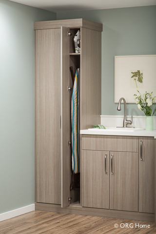 Laundry - Modern - Laundry Room - Boston - by Inspired Closets of Andover