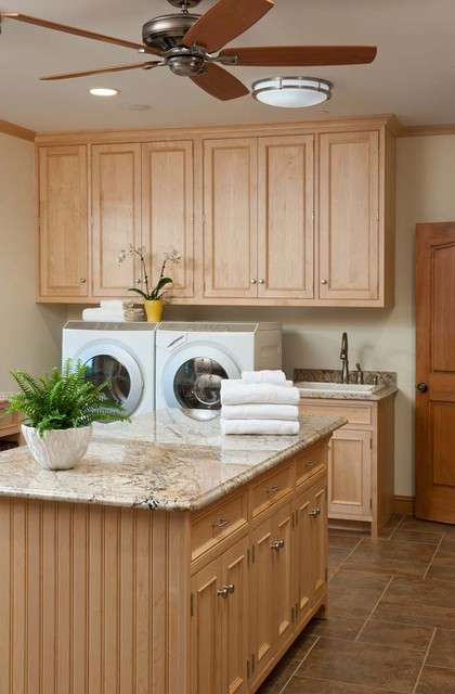 Laundry/Mud Room For A Busy Family traditional laundry room