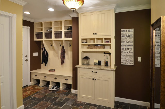 Laundry Mudroom Traditional Laundry Room Detroit