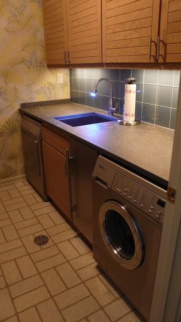 Laundry Asian Laundry Room Minneapolis By Partners