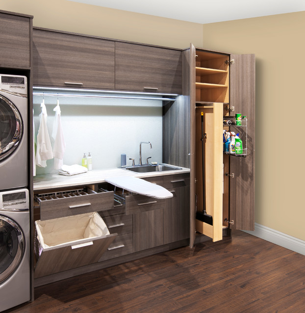Laundry Room Accessories Contemporary Laundry Room Other By Organized Interiors