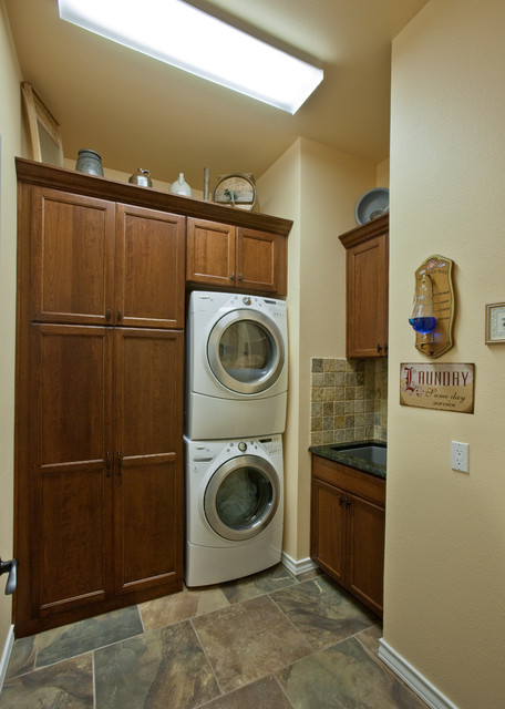 Laundry Room After Remodel - Laundry Room - dallas - by Curb Appeal ...
