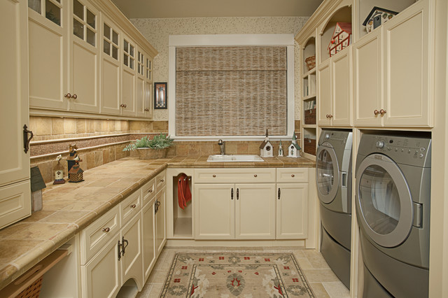 Laundry Room Pantry Traditional Laundry Room Seattle By Provanti Designs Inc