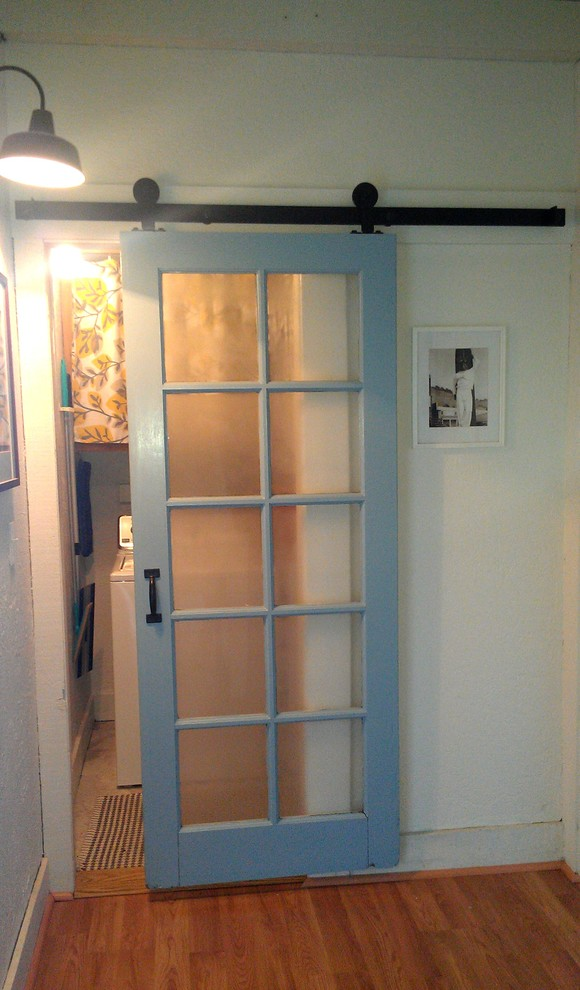 Laundry Room Barn Door Makeover