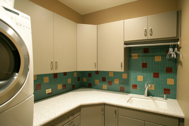 Laundry Room, Bars and other modern-laundry-room