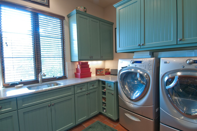 Laundry Room mediterranean laundry room