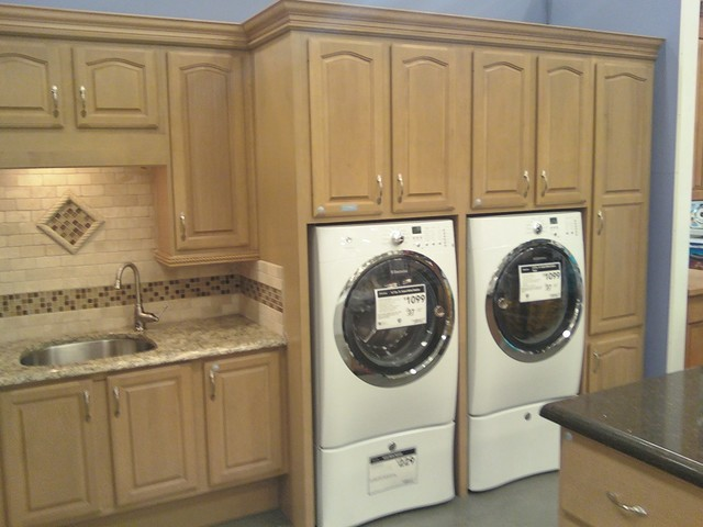 cabinets hardin products cabinet in kemper seal laundry maple room storage