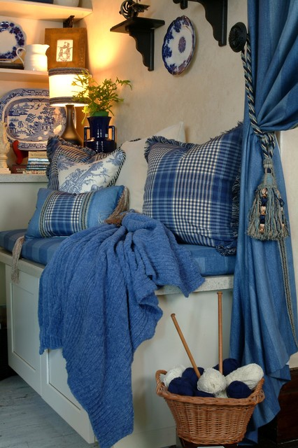 Laundry Room decorated with Sewing Machines - Traditional - Laundry ...