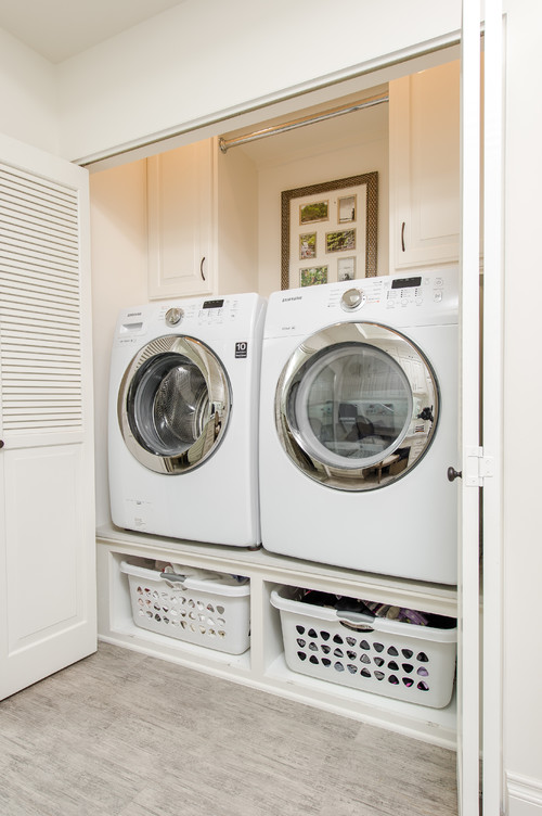 Share your 5 by 3 foot laundry closet