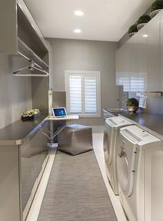 Laundry Room modern laundry room