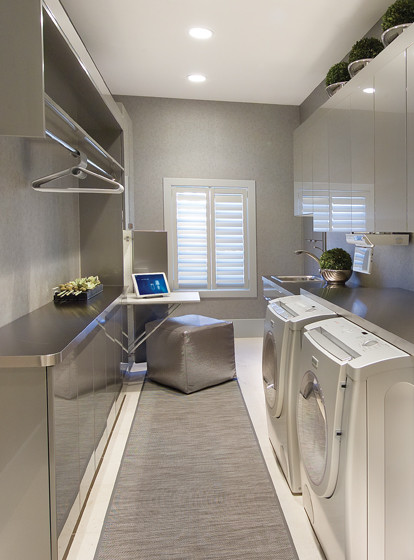 Laundry Room Modern Laundry Room Other Metro By