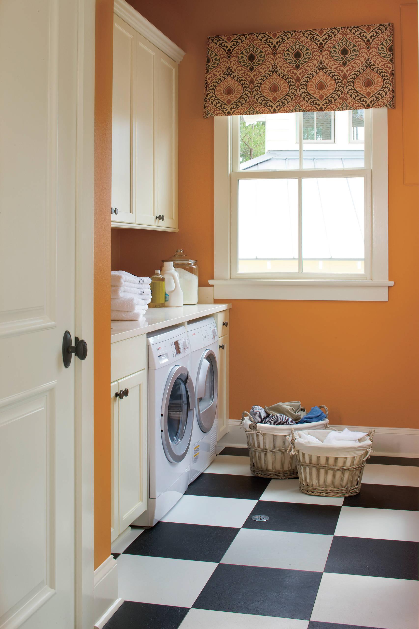 Laundry Room Valance Houzz