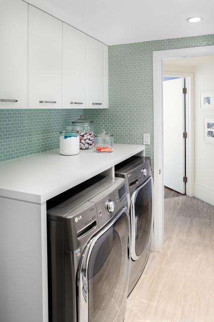 Laundry Room - Jade - Contemporary - Laundry Room - Miami ...