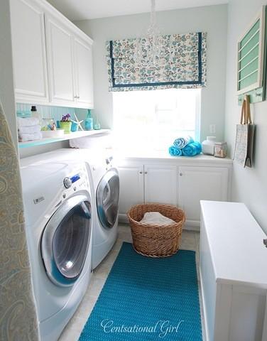 laundry room contemporary-laundry-room