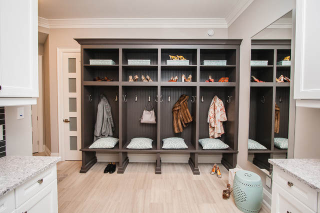 Laundry Room Lockers Transitional Toronto By Raywal Cabinets