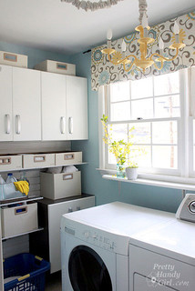 Laundry Room Makeover with Flow Wall Systems - Traditional - Laundry Room - raleigh - by ...