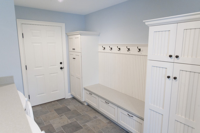 traditional laundry room by Pine Street Carpenters & The Kitchen Studio