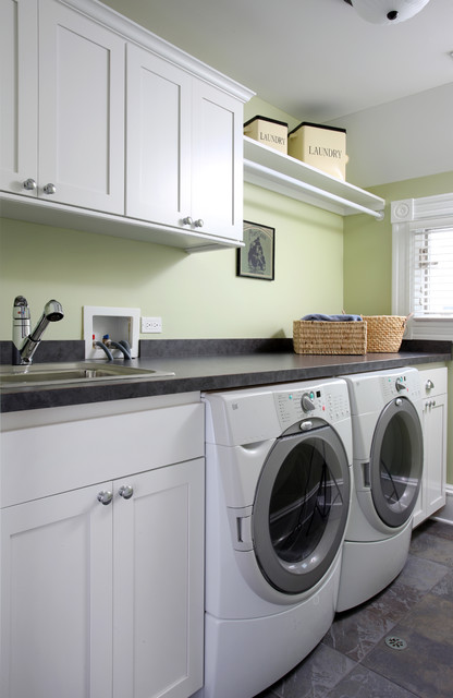 laundry room traditional laundry room chicago by normandy remodeling. Black Bedroom Furniture Sets. Home Design Ideas