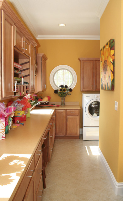 Laundry Room of the 'Kristen Nicole' traditional-laundry-room