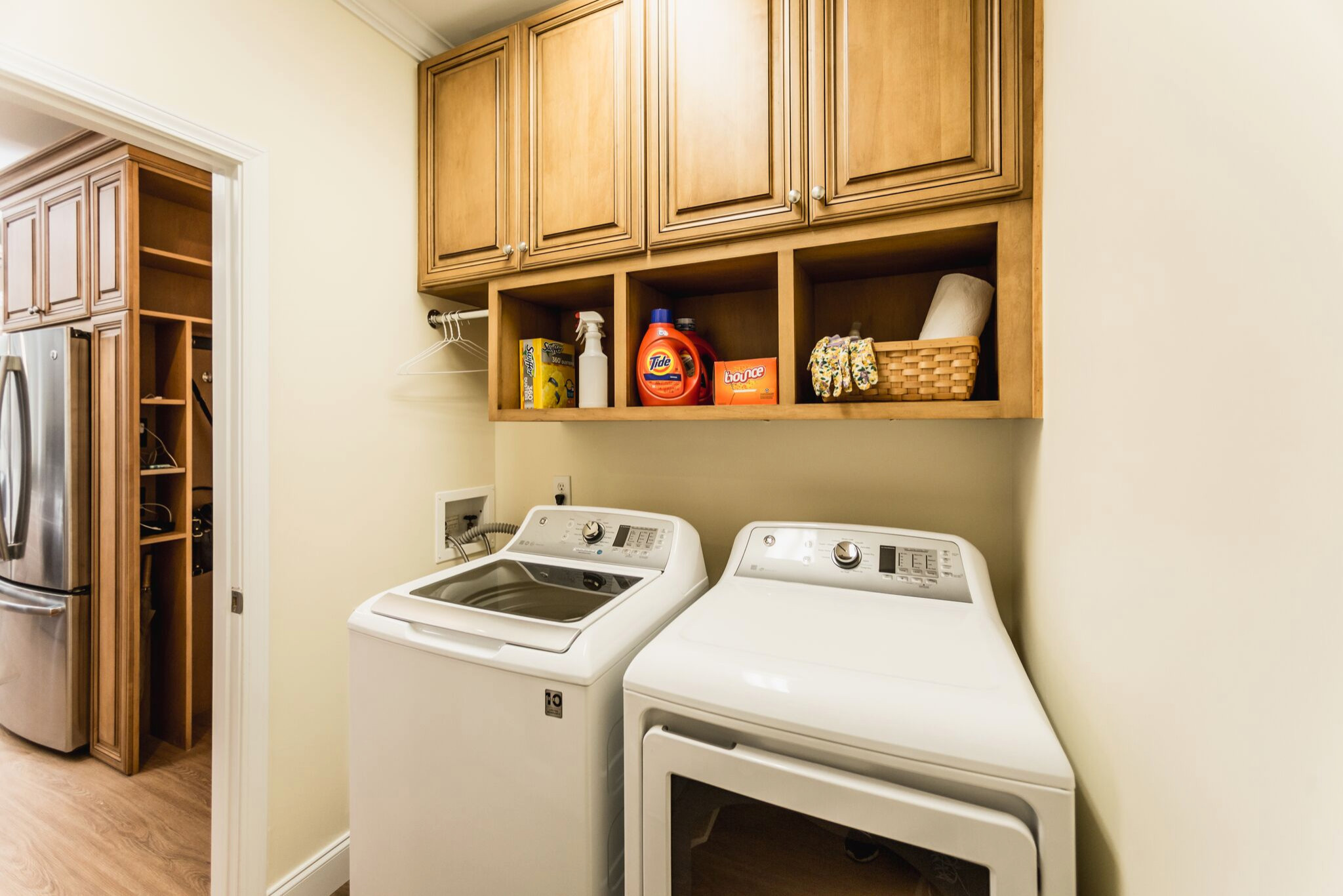 Laundry Room off of the kitchen