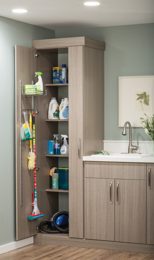 Clever Spots For Vacuum Cleaner Storage Abode