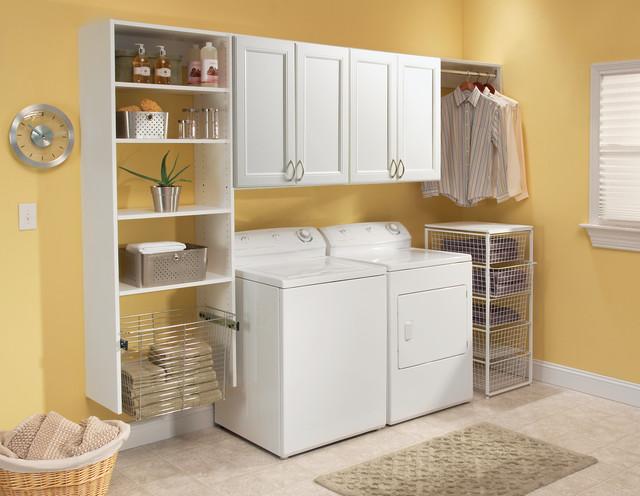 Laundry Room Organization traditional-laundry-room
