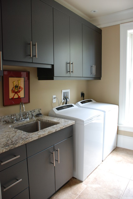 Laundry Room - Modern - Laundry Room - Charleston - by Priester's Custom Contracting, LLC