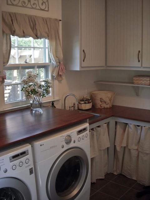Laundry room renovation traditional-laundry-room