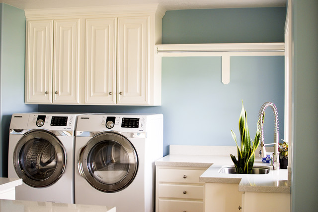 Modern Laundry Rooms laundry room - modern - laundry room - salt lake city -