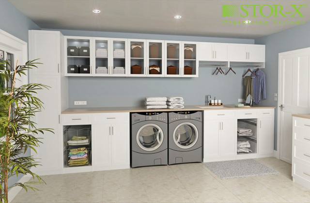 Laundry Room contemporary-closet-organizers