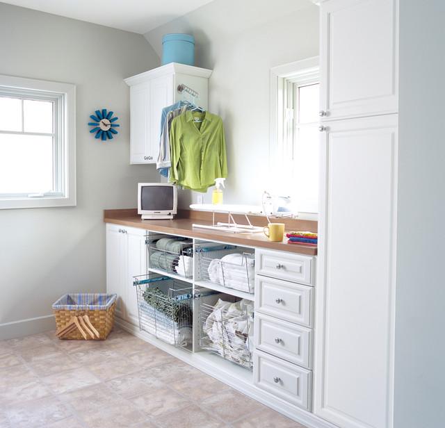 Laundry Room Storage Pelham Ny Contemporary Laundry