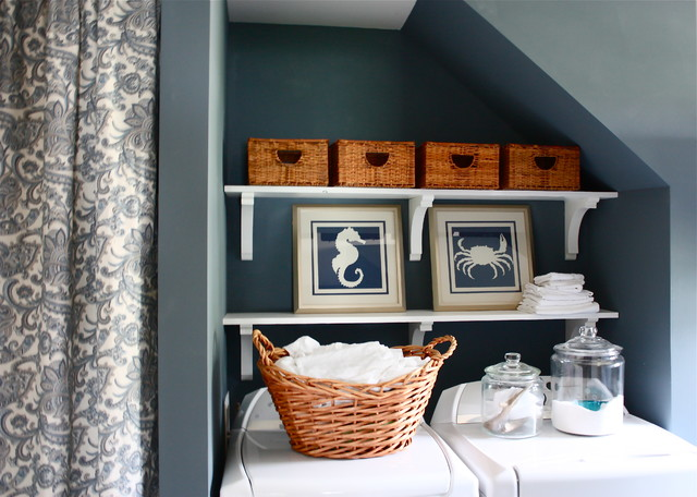 Laundry Room - Traditional - Laundry Room - detroit - by The Yellow Cape Cod