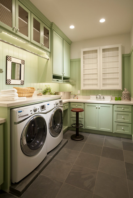 Country Home - 02 - Traditional - Laundry Room - Salt Lake City - by THINK architecture Inc.