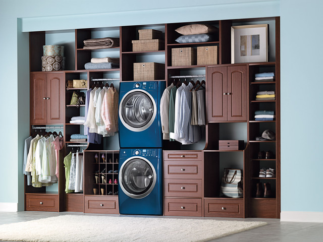 Laundry Room Walk In Closet Contemporary