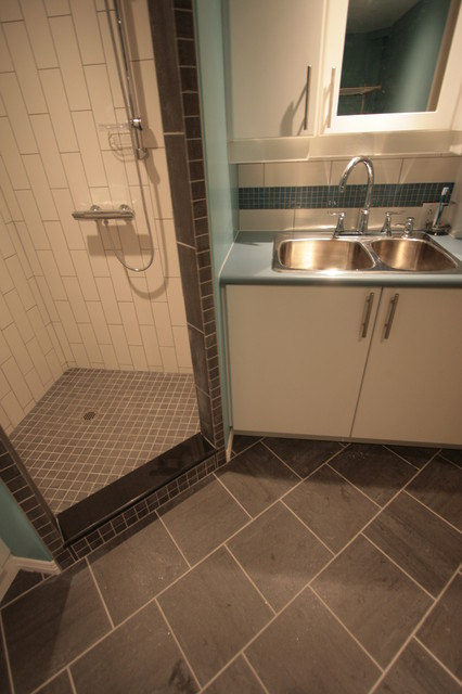 laundry room with full bath modern laundry room other by the
