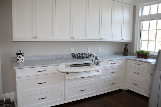 Laundry room with great storage options eclectic-laundry-room