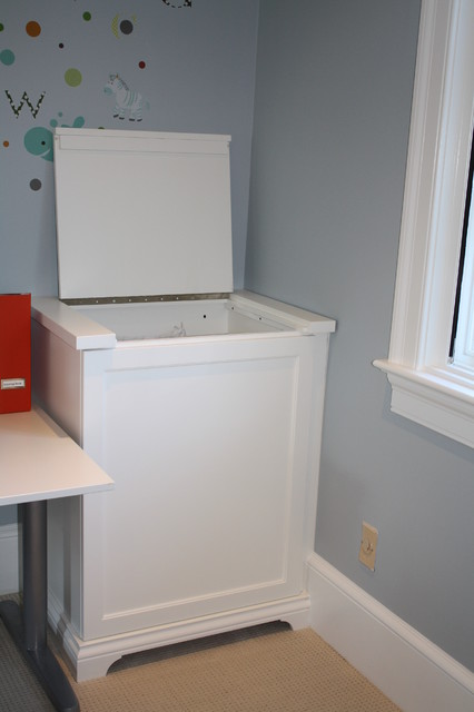 Laundry room with great storage options - Eclectic - Laundry Room - charlotte - by Hardwood ...