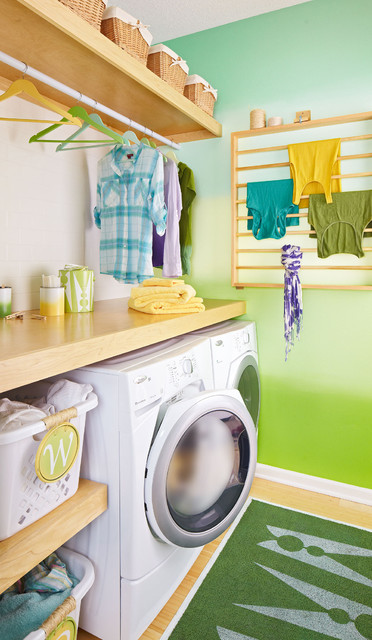Laundry Room with Loads of Style - Modern - Laundry Room - other metro - by Lowe's Home Improvement